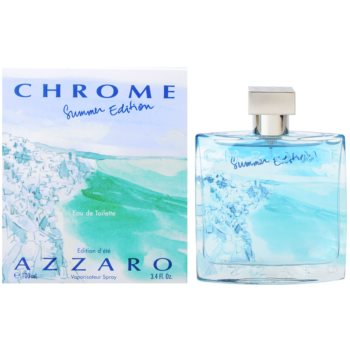 Azzaro Chrome Summer 2013 eau de toilette per uomo 100 ml