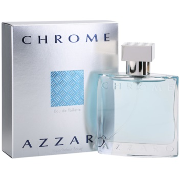 Azzaro Chrome eau de toilette per uomo 50 ml