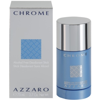 Azzaro Chrome deodorante stick per uomo 75 ml