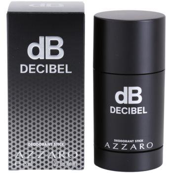 Azzaro Decibel deodorante stick per uomo 75 ml