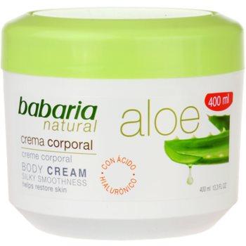 Babaria Aloe Vera crema corpo con aloe vera (Aloe Vera Body Cream Silky Smoothness) 400 ml