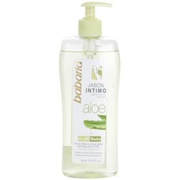 Babaria Aloe Vera doccia gel per l'igiene intima femminile con aloe vera (Mild Soap) 300 ml