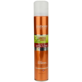 Babaria Ginseng lacca per capelli fissante extra forte (Setting Spray Extra Strong – Keratin & Ginseng) 300 ml