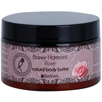 Barwa Harmony Rose burro corpo (Natural Body Butter) 220 ml