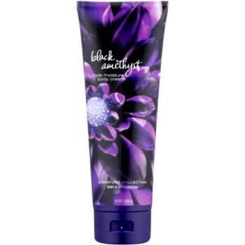 Bath & Body Works Black Amethyst crema corpo per donna 226 g