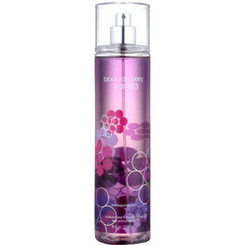 Bath & Body Works Black Raspberry Vanilla spray corpo per donna 236 ml