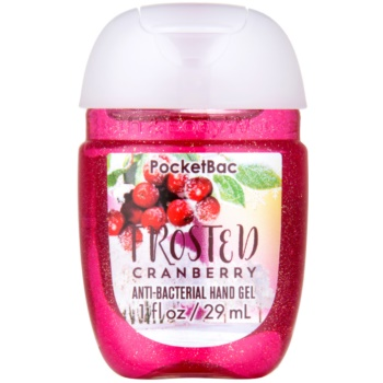 Bath & Body Works PocketBac Frosted  Cranberry gel antibatterico per le mani (Frosted Cranberry) 29 ml