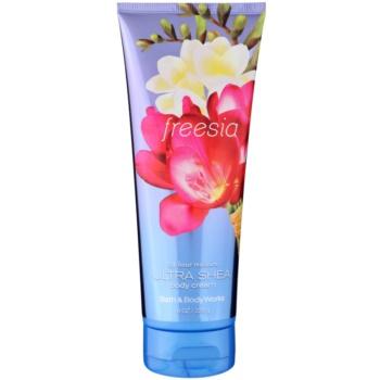 Bath & Body Works Freesia crema corpo per donna 226 g