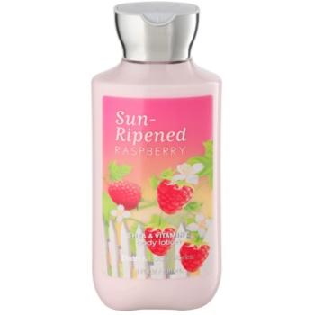 Bath & Body Works Sun Ripened Raspberry latte corpo per donna 236 ml