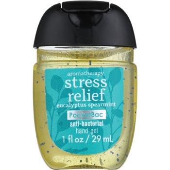 Bath & Body Works PocketBac Stress Relief gel antibatterico per le mani (Aromatherapy, Eucalyptus Spearmint) 29 ml