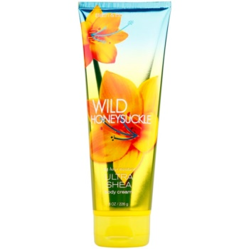 Bath & Body Works Wild Honeysuckle crema corpo per donna 226 g al burro di karité