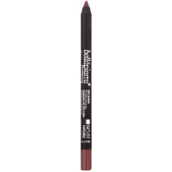 BelláPierre Gel Lip Liner matita al gel waterproof contouring per le labbra colore No.01 Natural 1,8 g