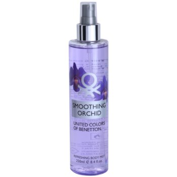 Benetton Smoothing Orchid spray corpo per donna 250 ml