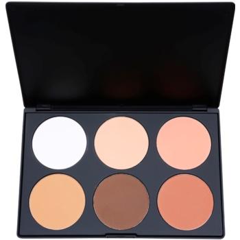 BHcosmetics Contour palette di blush colore 02 (6 Color Palette) 78 g