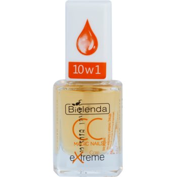 Bielenda CC Magic Nails Care Extreme siero rigenerante per unghie e cuticole (Marula Oil) 11 ml