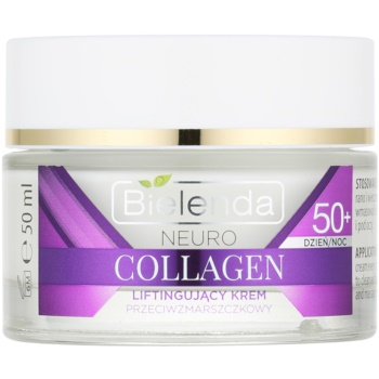 Bielenda Neuro Collagen crema liftante 50+ (Neuropeptide, 3x Collagen 3 Peptyd, Vitamins C+E) 50 ml