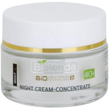 Bielenda BioTech 7D Collagen Rejuvenation 40+ crema notte intensa per rassodare la pelle (2x Bio-Hyaluronic Acid, Argan Stem Cells, Coenzyme Q10, Stable Vit, C) 50 ml