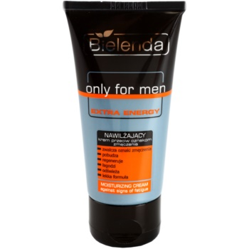 Bielenda Only for Men Extra Energy crema idratante intensa contro i segni di stanchezza (Vitamin C, Magnesium, Caffeine, Ceramides) 50 ml