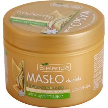 Bielenda Golden Oils Ultra Firming burro intenso corpo per rassodare la pelle (Babassu, Passioflower, Pistachio Oils) 200 ml