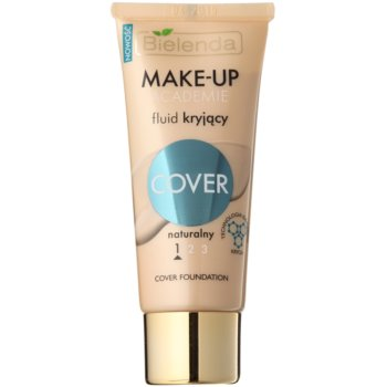 Bielenda Make-Up Academie Cover fondotinta per pelli con imperfezioni colore 1 Natural 30 g