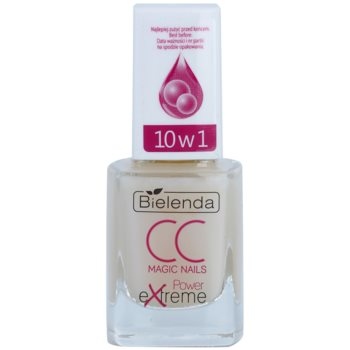 Bielenda CC Magic Nails Power Extreme siero rinforzante per le unghie (White Pearl Effect) 11 ml