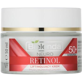 Bielenda Neuro Retinol crema liftante 50+ (Neuropeptide, 2x Intelligent Microspheres Retinol, Vitamins C+E) 50 ml