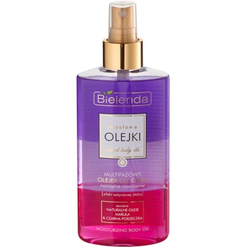 Bielenda Sensual Body Oils olio corpo multifase effetto idratante (Marula and Blackcurrant Oil) 150 ml