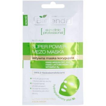 Bielenda Skin Clinic Professional Correcting maschera in tessuto contro le imperfezioni della pelle acneica