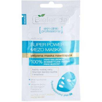 Bielenda Skin Clinic Professional Moisturizing maschera in tessuto idratante e lisciante