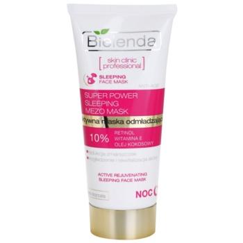 Bielenda Skin Clinic Professional Rejuvenating maschera notte effetto ringiovanente (Retinol, Vitamin E, Coconut Oil) 50 ml