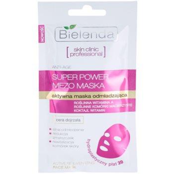 Bielenda Skin Clinic Professional Rejuvenating maschera in tessuto rivitalizzante