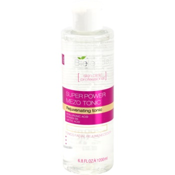 Bielenda Skin Clinic Professional Rejuvenating lozione tonica attiva per la rigenerazione della pelle (Super Power Mezo Tonic) 200 ml