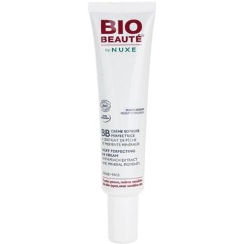 Bio Beauté by Nuxe Skin-Perfecting BB cream con estratto di pesca e pigmenti minerali colore  Teinte Medium/Medium Complexion (Silky Perfecting BB Cream With Peach Extract And MIneral Pigments) 30 ml