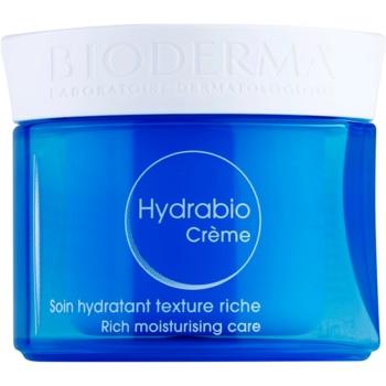Bioderma Hydrabio Créme crema nutriente idratante per pelli sensibili secche e molto secche (Intensely Nourishes - Reveals Skin Radiance) 50 ml
