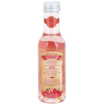 Bohemia Gifts & Cosmetics Rosarium shampoo per capelli per tutti i tipi di capelli 200 ml
