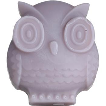 Bohemia Gifts & Cosmetics Owl sapone fatto a mano con glicerina 95 g