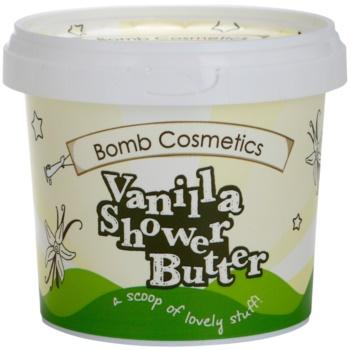 Bomb Cosmetics Chilla Vanilla bagnodoccia per pelli secche (Cleansing Shower Butter) 320 g