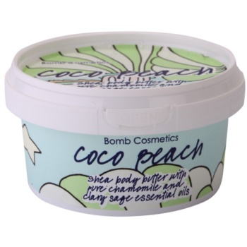 Bomb Cosmetics Coco Beach burro corpo (With Pure Chamomile And Clary Sage Essential Oils) 200 ml