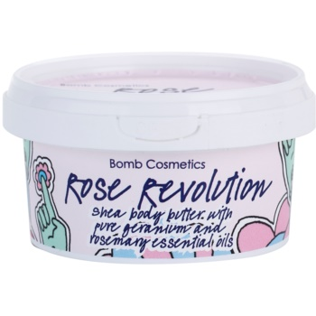 Bomb Cosmetics Rose Revolution burro corpo (Shea Body Butter) 200 ml