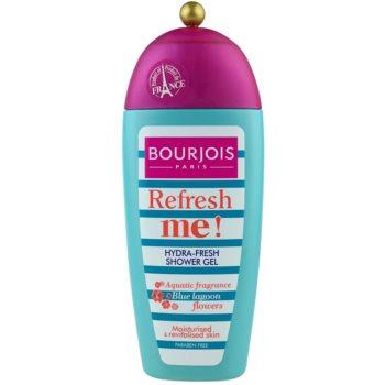 Bourjois Refresh Me! gel doccia rinfrescante senza parabeni (Aquatic Fragrance Blue Lagoon Flowers) 250 ml