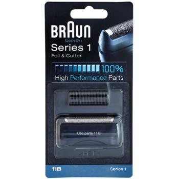 Braun CombiPack Series1 11B lama e testina di ricambio (Compatible with Series 1) 2 pz