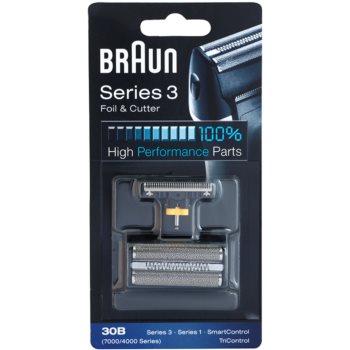 Braun CombiPack Series3 30B lama e testina di ricambio (Compatible with Series 3, Series 1, SmartControl, TriControl) 2 pz