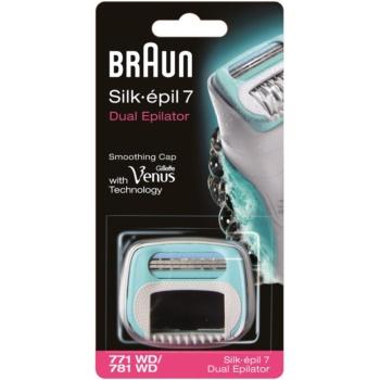 Braun Silk épil 7 Dual testina di ricambio con lame Braun (771 WD/781 WD)
