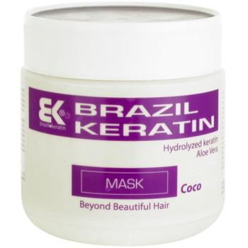 Brazil Keratin Coco maschera alla keratina per capelli rovinati (Moisturizing Keratin Coconut mask) 500 ml