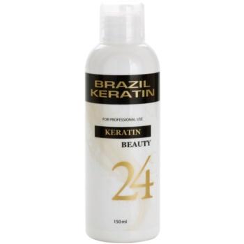 Brazil Keratin Beauty Keratin trattamento speciale per lisciare e rigenerare i capelli rovinati (Keratin Treatment 24 Hours) 150 ml