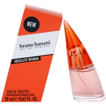 Bruno Banani Absolute Woman eau de toilette per donna 20 ml