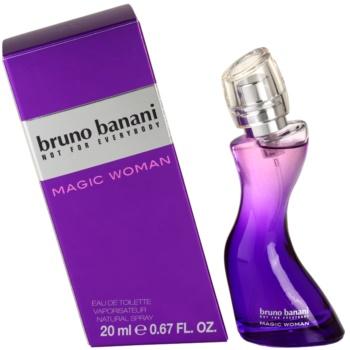 Bruno Banani Magic Woman eau de toilette per donna 20 ml