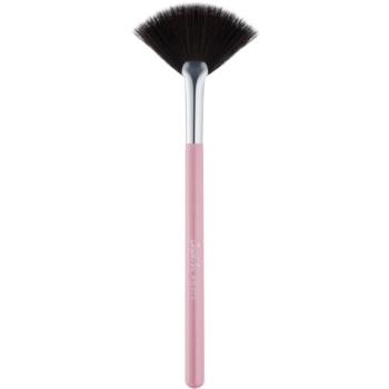 BrushArt Basic Pink pennello a ventaglio per togliere i residui di cipria e ombretto (Fan Brush)