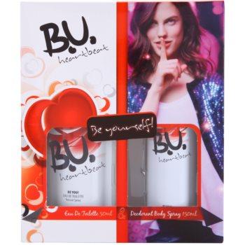 B.U. Heartbeat kit regalo I eau de toilette 50 ml + deodorante in spray 150 ml