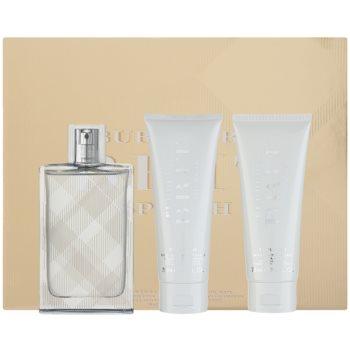 Burberry Brit Splash kit regalo I eau de toilette 100 ml + gel doccia 75 ml + gel corpo 75 ml